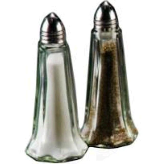 Where to find SALT   PEPPER SET, GLASS in Tulsa