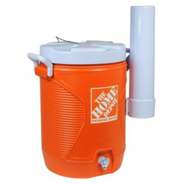 Where to find COOLER,5 GAL IGLOO ORANGE in Tulsa