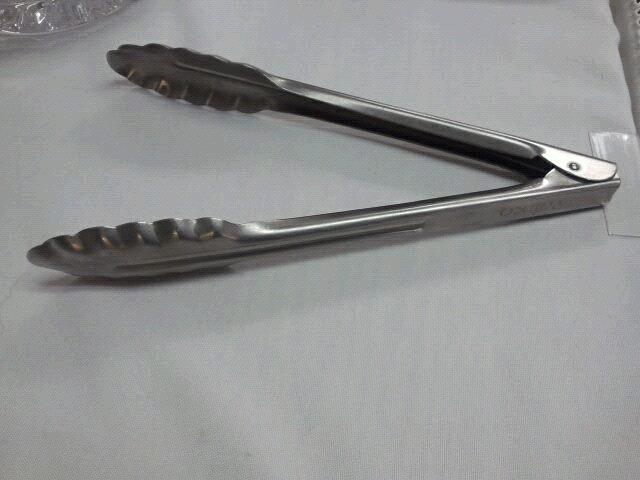 Where to find TONGS, STAINLESS  9 in Tulsa