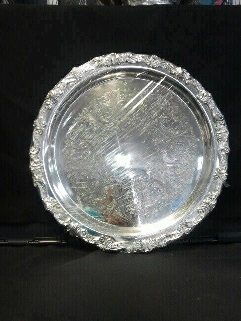 Where to find TRAY, 16  ROUND SILVERPLATE in Tulsa