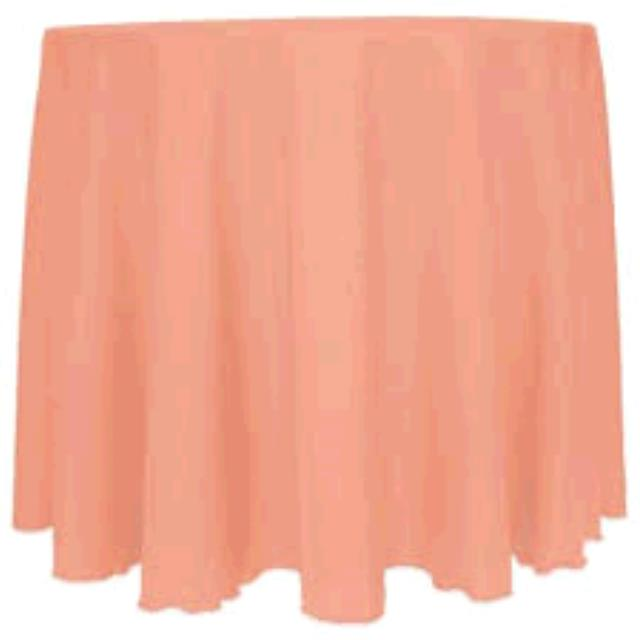Where to find TABLECLOTH, 54 X 54 CORAL in Tulsa