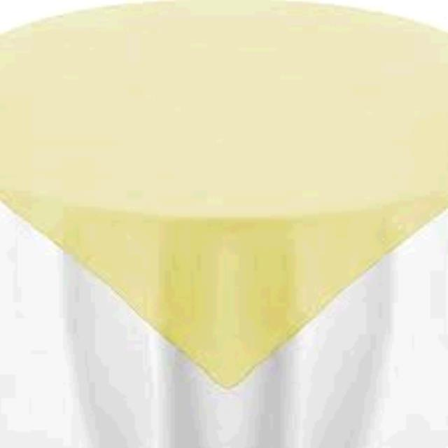 Where to find TABLECLOTH, 72 X 72 MAIZE in Tulsa