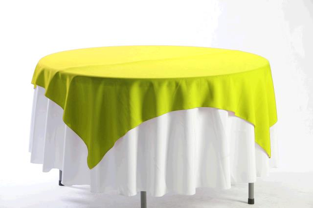 Where to find TABLECLOTH, 72 X 72 LEMON in Tulsa