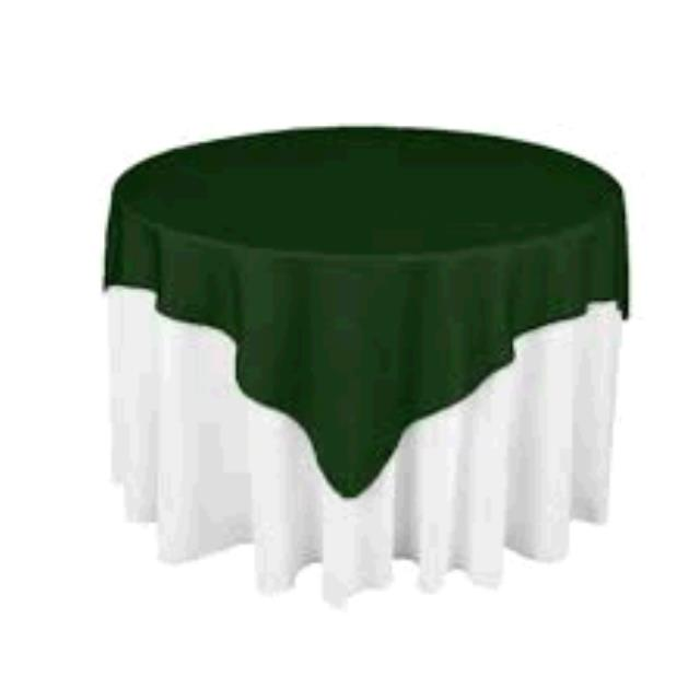 Where to find TABLECLOTH, 72 X 72 HUNTER GREEN in Tulsa