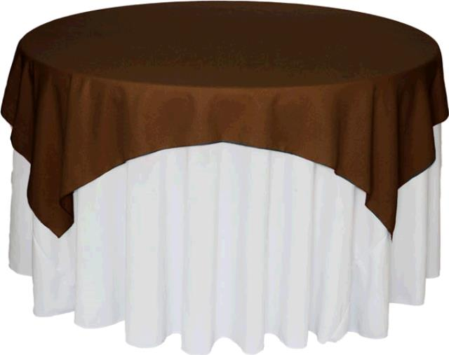 Where to find TABLECLOTH, 72 X 72 BROWN in Tulsa