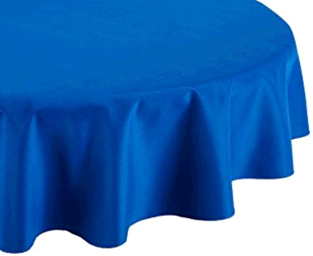 Where to find TABLECLOTH, 72 X 72 ROYAL BLUE in Tulsa