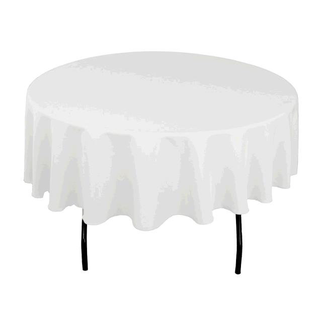Where to find TABLECLOTH, 72 X 72 WHITE in Tulsa