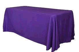 Where to find TABLECLOTH, 90 X 132 PURPLE in Tulsa