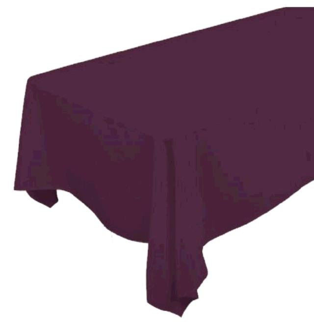 Where to find TABLECLOTH, 90 X 132 CLARET in Tulsa