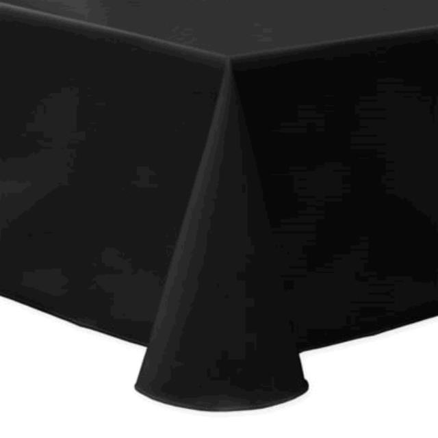Where to find TABLECLOTH, 64 X 64 BLACK in Tulsa