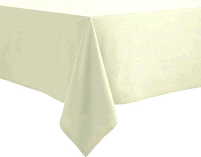 Where to find TABLECLOTH, 64 X 64 IVORY in Tulsa