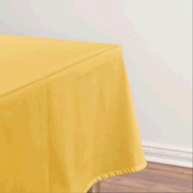 Where to find TABLECLOTH, 64 X 64 GOLD in Tulsa