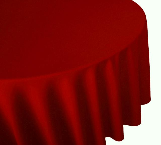Where to find TABLECLOTH, 64 X 64 RED in Tulsa