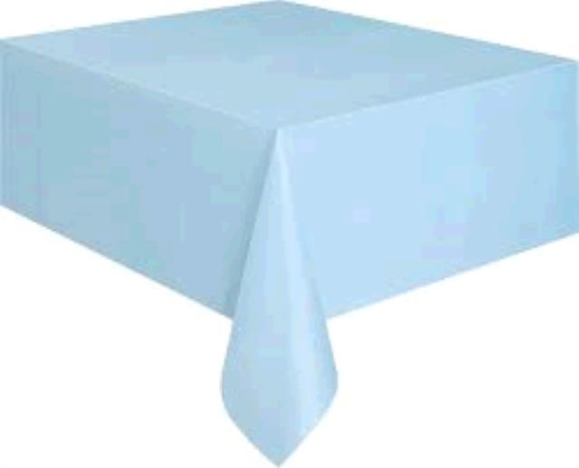 Where to find TABLECLOTH, 64 X 64 LIGHT BLUE in Tulsa