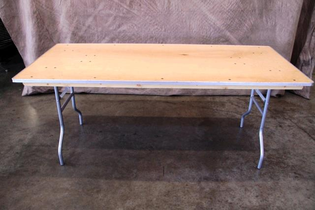Where to find TABLE, 6  WOOD RAIL in Tulsa