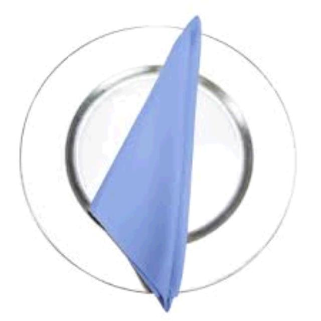 Where to find NAPKIN, 10 X 10 PERIWINKLE in Tulsa