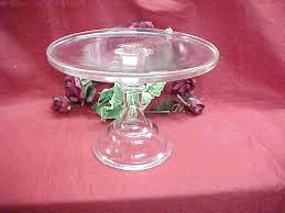 Where to find CAKE STAND, GLASS, 10  TALL in Tulsa