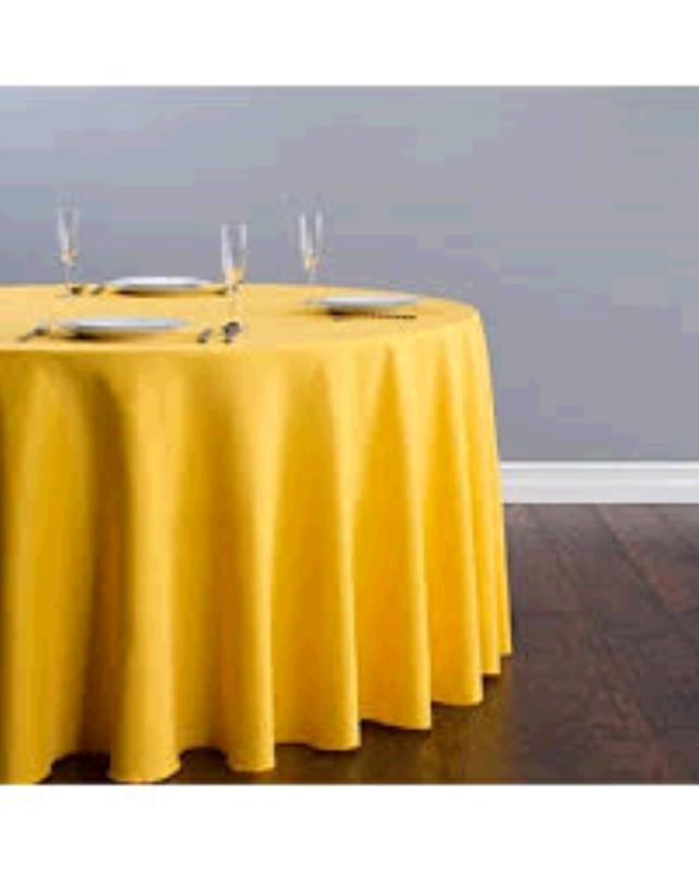 Where to find TABLECLOTH, 78 X 78 GOLD in Tulsa