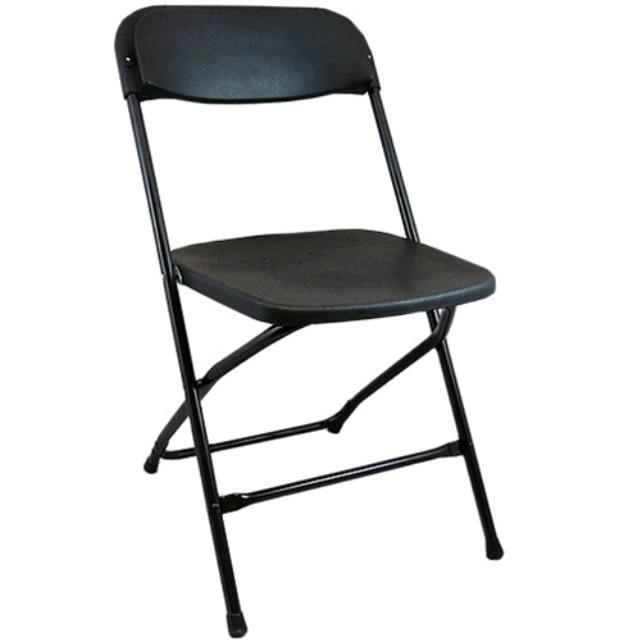 Where to find CHAIR, FOLDING PLST. BLK I.S. in Tulsa