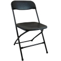 Where to rent CHAIR, FOLDING PLST. BLK I.S. in Tulsa OK