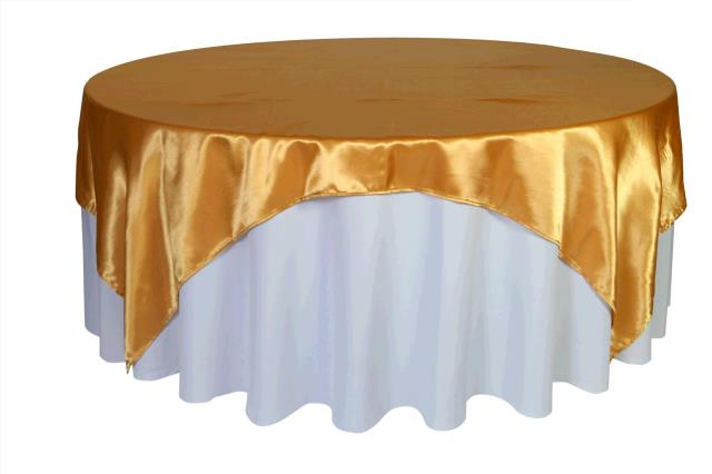 Where to find TABLECLOTH, 72 X 72 GOLD SATIN in Tulsa