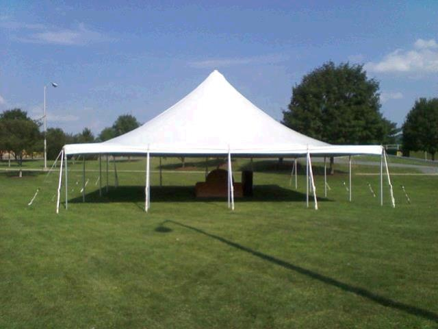 Where to find TENT, 40 X40 WHITE POLE in Tulsa