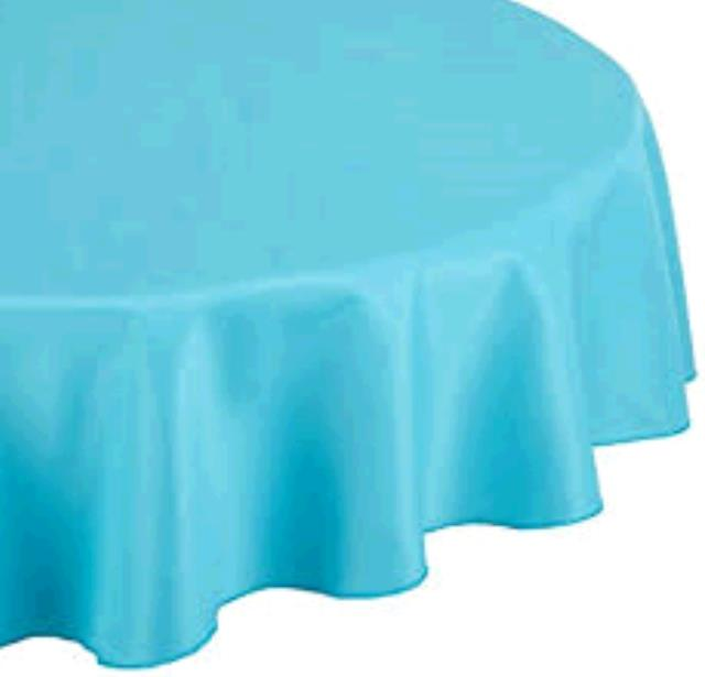Where to find TABLECLOTH, 54 X 54 TURQUOISE in Tulsa