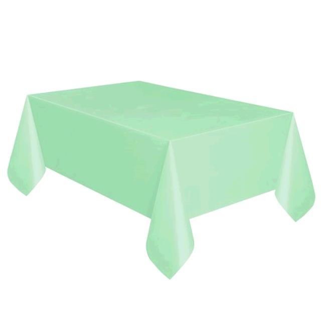 Where to find TABLECLOTH, 78 X 78 MINT in Tulsa
