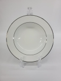 Rental store for PLATE, 9  WHITE W  SILVER RIM in Tulsa OK