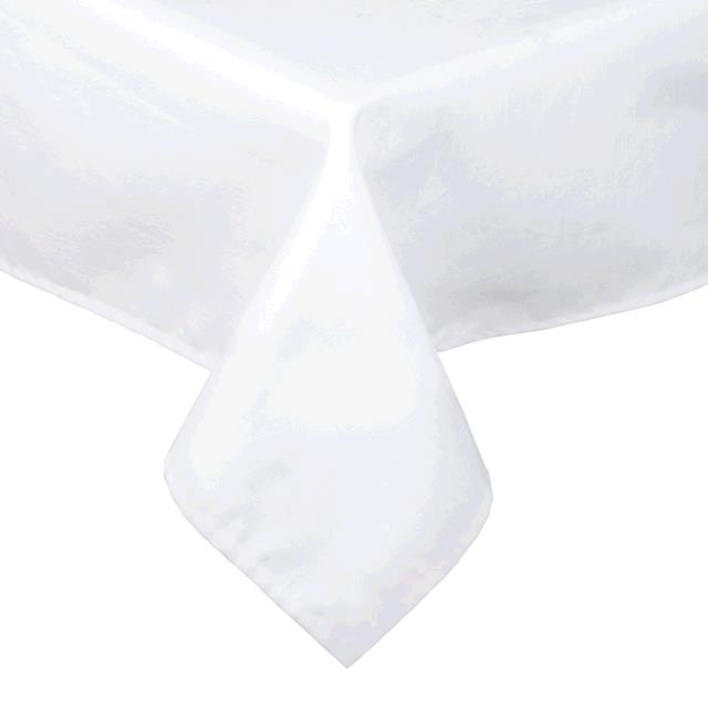 Where to find TABLECLOTH, 61 X 61 WHITE COTTON in Tulsa