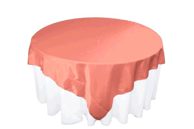 Where to find TABLECLOTH, 72 X 72 CORAL in Tulsa
