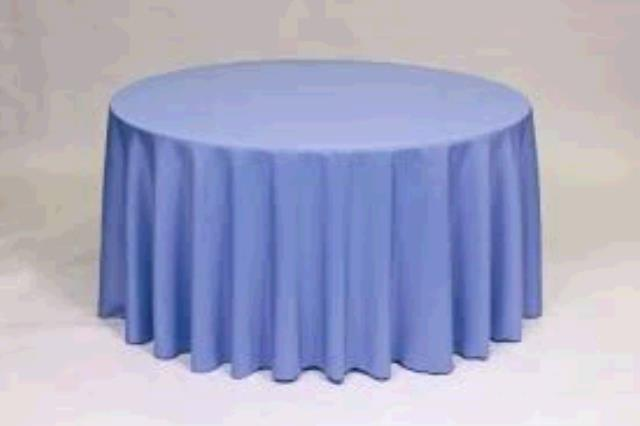 Where to find TABLECLOTH, 78 X 78 PERIWINKLE in Tulsa