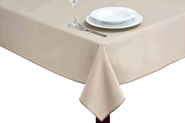 Where to find TABLECLOTH, 78 X 78 TAN in Tulsa