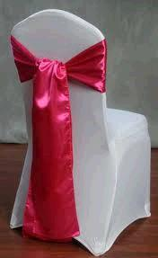 Where to find CHAIR TIE, HOT PINK SATIN in Tulsa