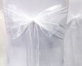 Where to rent CHAIRTIE, WHITE ORGANZA in Tulsa OK