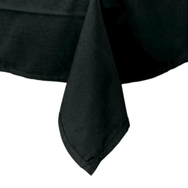 Where to find TABLECLOTH, 52 X 114 BLACK COTTON in Tulsa