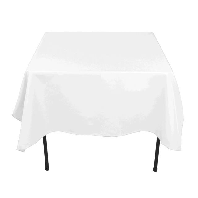 Where to find TABLECLOTH, 52 X 114 WHITE COTTON in Tulsa