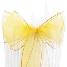 Where to find CHAIR TIE, LEMON ORGANZA in Tulsa