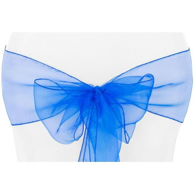 Where to find CHAIR TIE, ROYAL BLUE ORGANZA in Tulsa