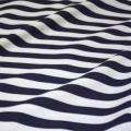 Rental store for TABLECLOTH, 78 X 78 NAVY CAROUSEL STRIPE in Tulsa OK