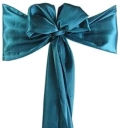 Rental store for CHAIRTIE, TEAL SATIN in Tulsa OK