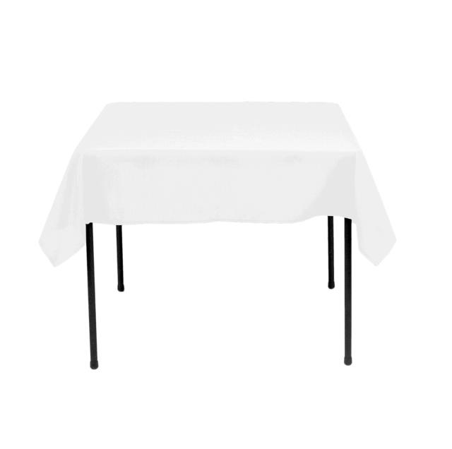 Where to find TABLECLOTH, 42 X 42 WHITE COTTON in Tulsa