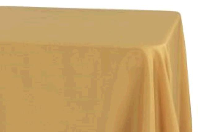 Where to find TABLECLOTH, 78 X 78 GOLD SATIN in Tulsa