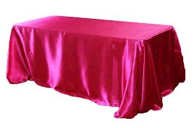 Where to find TABLECLOTH, 90 X 132 HOTPINK SATIN in Tulsa