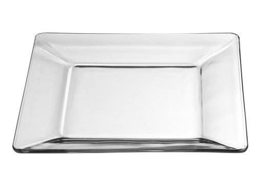 Where to find PLATE, 10  CLEAR GLASS SQ. PLATE in Tulsa