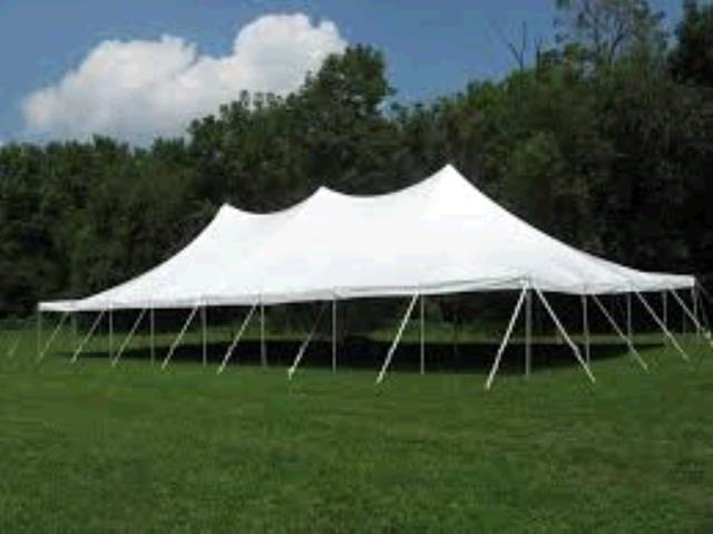 Where to find TENT, 40 X80  POLE WHITE TENTM in Tulsa