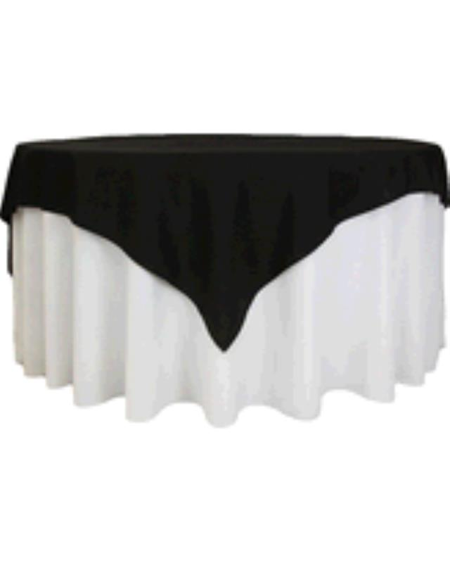 Where to find TABLECLOTH, 78 X 78 BLACK in Tulsa