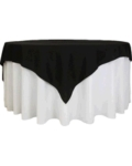 Rental store for TABLECLOTH, 78  X 78  BLACK in Tulsa OK