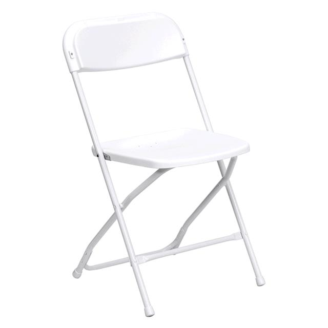 Where to find CHAIR, FOLDING PLST. WHITE I.S in Tulsa