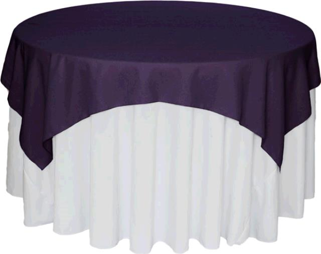 Where to find TABLECLOTH, 72 X 72 EGGPLANT in Tulsa